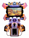 Outnumbered - 2 Player Cabinet Orange