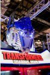 Transformers: Shadows Rising - A closeup of Optimus Prime's light up head