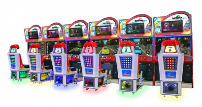 Daytona Championship USA DLX - 6 Player Cabinet