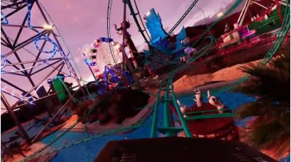 Virtual Rabbids: The Big Ride - Coaster Calamity Experience