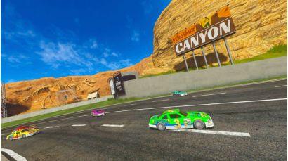 Daytona Championship USA DLX - Dinosaur Canyon Track