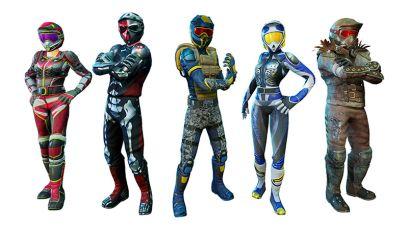 ATV Slam - Character Options
