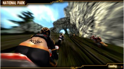Storm Rider - National Park Track