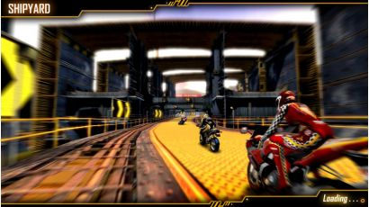 Storm Rider - Shipyard Track