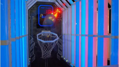 Hyper Shoot - Lighting Reacts to the ball