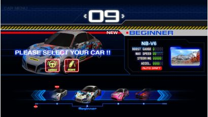 Storm Racer Motion DLX - Select your car