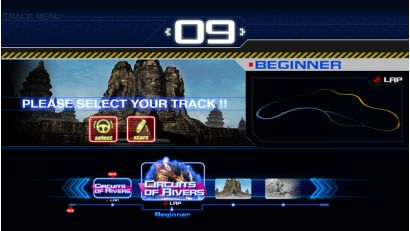 Storm Racer STD - Select your track