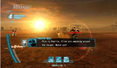 Target Bravo: Operation Ghost Upright - Aiming at enemies on motor bikes