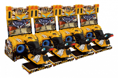 Storm Rider - 4 Player Cabinet