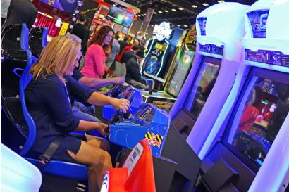 Storm Racer Motion DLX - Player is getting serious about winning