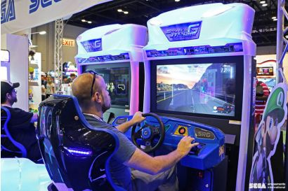 Storm Racer Motion DLX - 2 Players racing against each other
