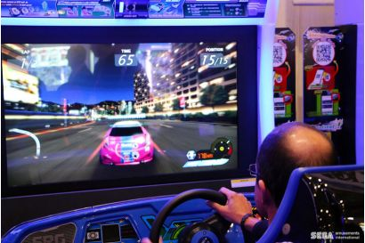 Storm Racer Motion DLX - Closeup of the player's view