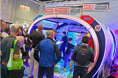 Mission: Impossible Arcade - M:IA Cabinet is drawing a crowd