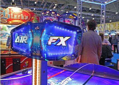 Air FX - Close up of the header