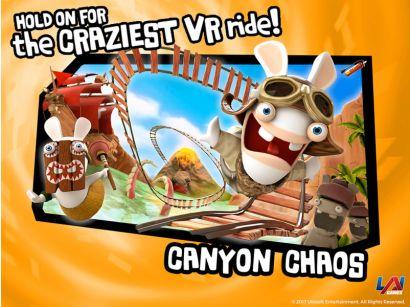 Virtual Rabbids: The Big Ride - Canyon Chaos