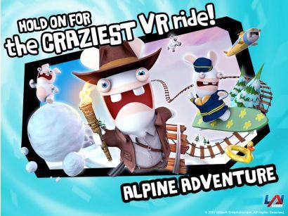 Virtual Rabbids: The Big Ride - Alpine Adventures