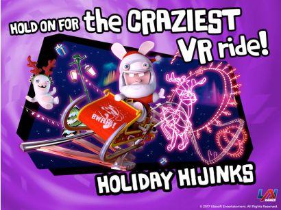 Virtual Rabbids: The Big Ride - Holiday Hijinks