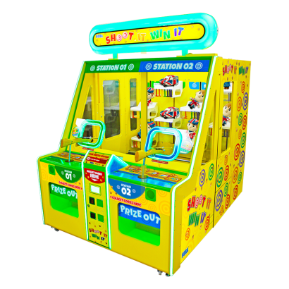 Shoot It Win It - 2 Player Cabinet