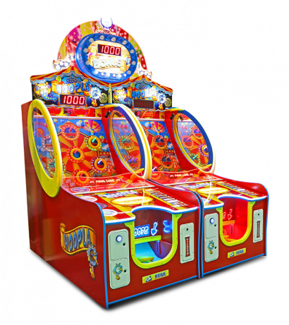 Hoopla - 2 Player Cabinet with Marquee