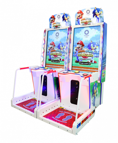 Mario & Sonic at the Olympic Games Tokyo 2020 Arcade Edition - 2 Player Cabinet