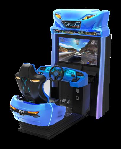 Storm Racer Motion DLX - Single Cabinet