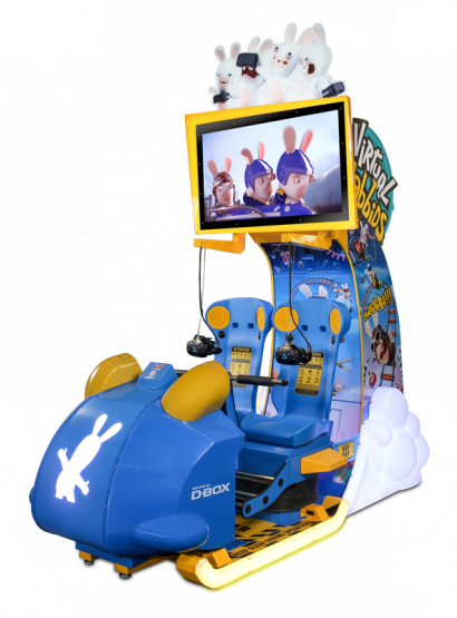 Virtual Rabbids: The Big Ride - 2 Player Cabinet