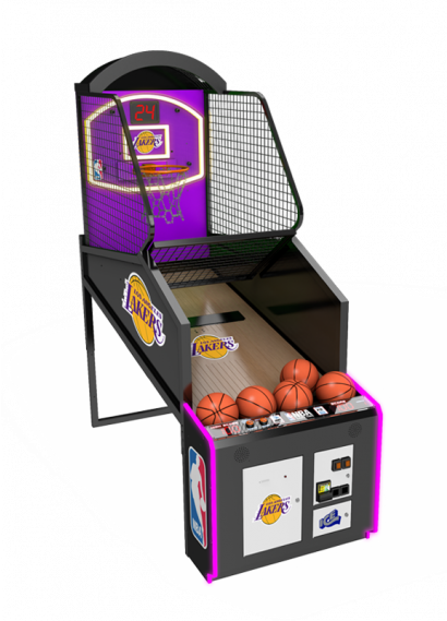 NBA Game Time - Lakers Cabinet