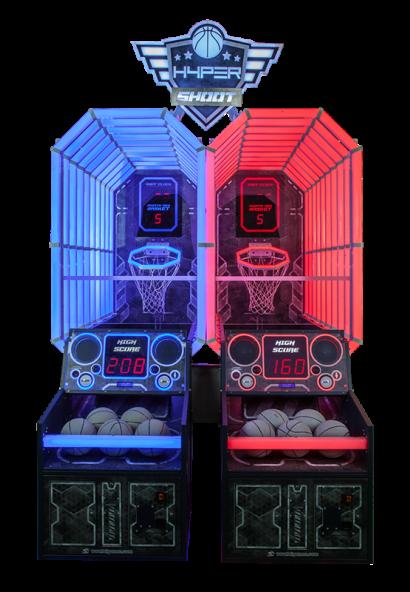 Hyper Shoot - 2 Player Cabinet head on