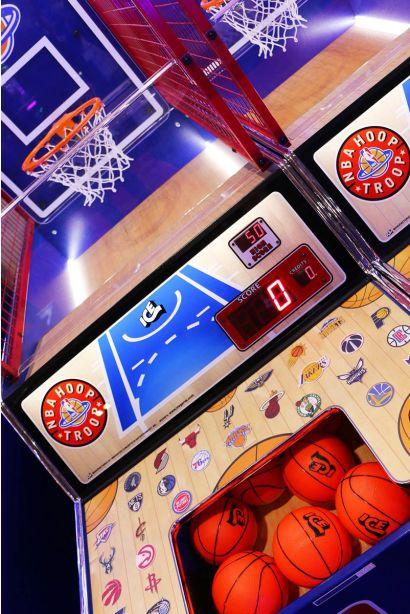 NBA Hoop Troop - Ball Release