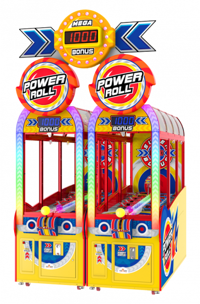 Power Roll - 2 Player Cabinet with Marquee