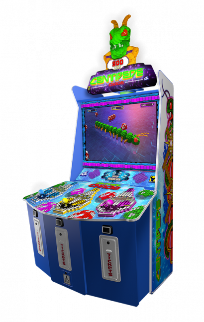 Centipede Chaos - Standup Cabinet