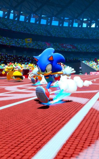 Mario & Sonic at the Olympic Games Tokyo 2020 Arcade Edition - Sonic