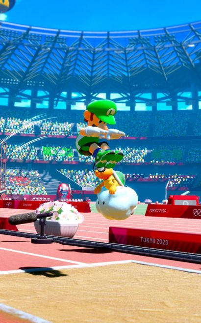 Mario & Sonic at the Olympic Games Tokyo 2020 Arcade Edition - Luigi