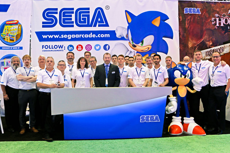 Creating an inclusive environment Image of Sega Team