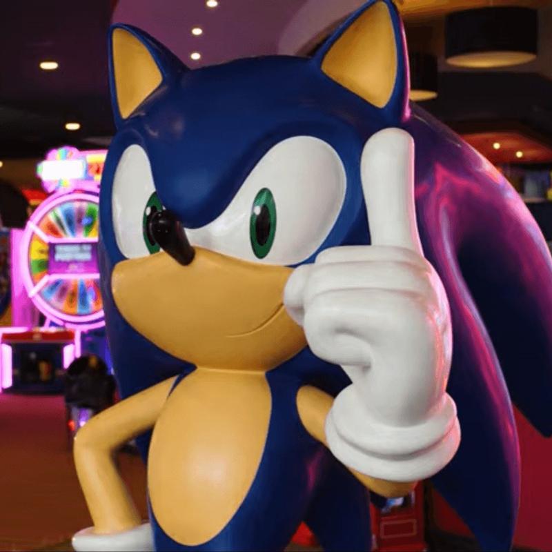 Perks at Sega Image of Sonic